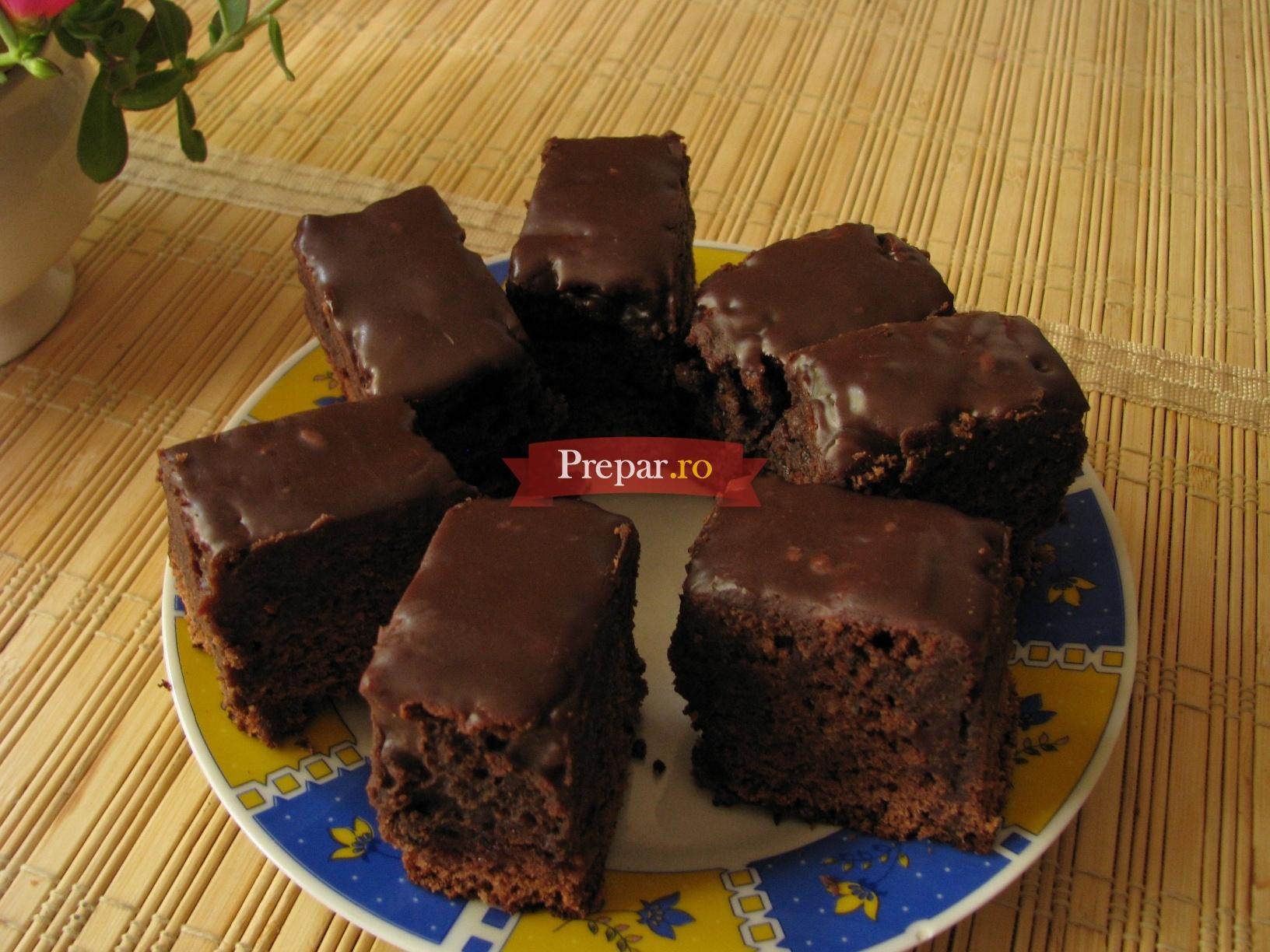 Foto 1 - Negresa cu glazura de ciocolata
