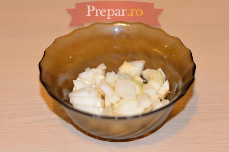 Foto 4 - Omleta cu ciuperci, ardei si ceapa