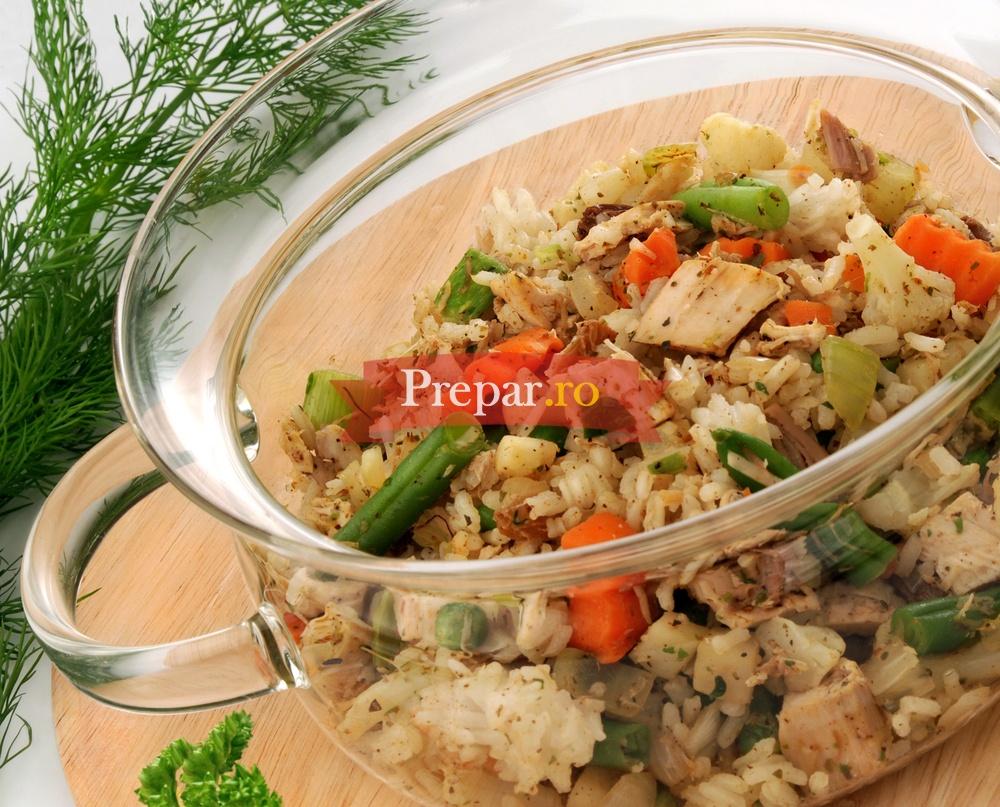 Foto 1 - Salata de toamna cu ciuperci de padure