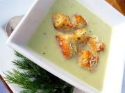 Supa de ceapa cu croutons