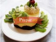 Tort de kiwi cu branza