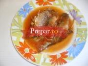 Pesti prajiti cu  sos de bulion