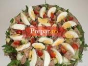 Salata de cartofi fierti si ton