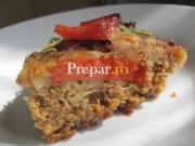 Budinca de macaroane cu carne