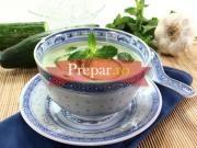 Supa cu iaurt si menta