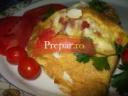 Omleta Calzone cu branza