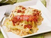 Cannelloni cu umplutura de dovlecei