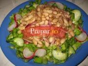 Salata de primavara cu fasole boabe
