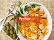 Salata cu pui si orez