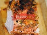 Carne de porc cu sos brun la cuptor
