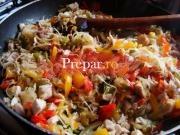 Salata de legume calite (mediteraneana)