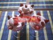 Spuma de fructe de padure sau capsuni