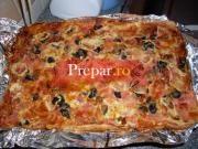 Pizza din paine feliata