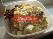 Salata orientala cu peste si maioneza