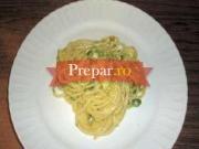 Spaghete carbonara vegetale