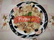 Salata de conopida cu pasta de susan - Maqdous zahra