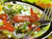 Salata de legume cu sunca
