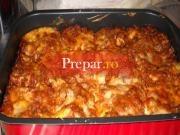 Lasagne cu sos Bolognese
