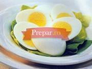 Salata de oua cu sos de usturoi