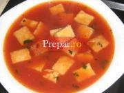 Supa de rosii cu galuste imperiale