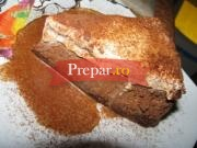 Tort de branza cu ciocolata si cappuccino