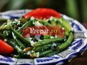 Salata de fasole verde cu ceapa
