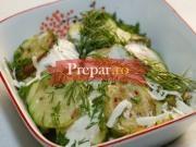 Salata de dovlecei cu oua