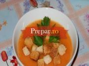 Supa de legume cu crutoane