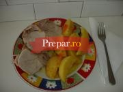 Arosto con le patate (Cotlet de porc cu cartofi)