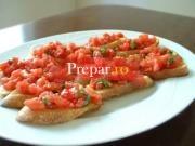 Panzanella (paine cu rosii)