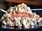 Salata boeuf cu oua fierte