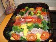 Friptura la tava cu legume