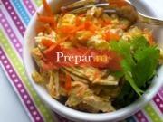 Salata de morcovi si praz