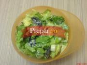 Salata de salata verde oparita cu iaurt