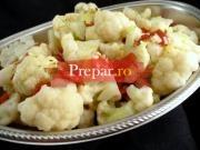 Salata de conopida cu iaurt si usturoi