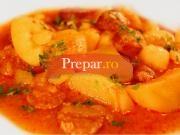Papricas de cartofi cu carnati
