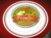 Supa de galuste de branza