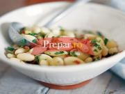 Salata de fasole boabe cu usturoi
