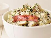 Salata de cartofi cu sos de iaurt