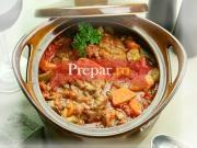 Tocanita de legume cu pulpe de pui
