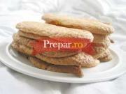 Savoiardi (biscuiti piemontezi pentru Tiramisu)