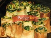 Clatite picante cu spanac