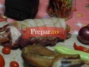 Muschiulet de porc impanat  (rulat)