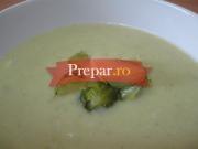Supa-crema de varza de Bruxelles