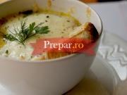 Supa de ceapa cu cascaval