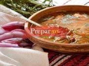 Supa cu carne afumata si fasole uscata