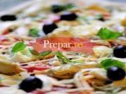 Pizza cu taitei