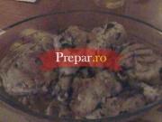 Friptura de pui la cuptor cu legume