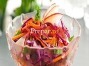 Salata din sfecla rosie si varza