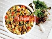 Ghiveci de legume cu piept de pui